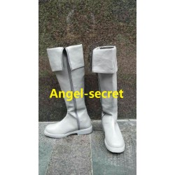 AS011 prince in Snow white boots shoes
