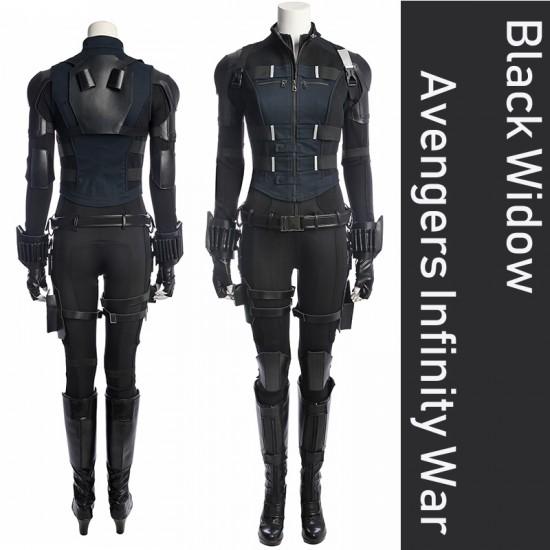 A001 Marvel Comics The avengers Infinity War Black Widow Natasha Romanoff Scarlett Johansson cosplay costumes