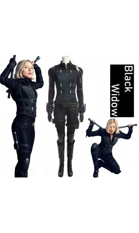A001 Marvel Comics The avengers Infinity War Black Widow Natasha Romanoff Scarlett Johansson cosplay costumes
