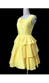 BM110 Belle 2017 yellow dress disneybound