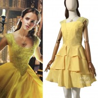 BM21 Belle 2017 yellow dress disneybound