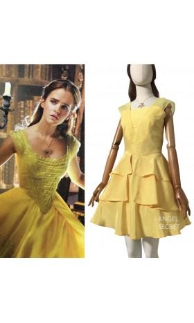 BM21 Belle 2017 yellow dress disneybound