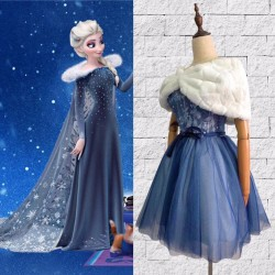 BM998 disneybound OLAF'S FROZEN ADVENTURE Elsa dress