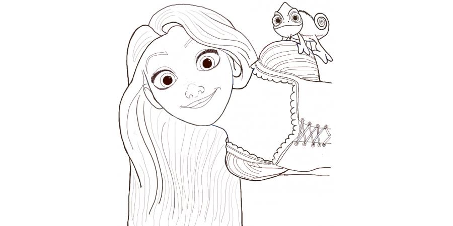 Disney Rapunzel Cosplay