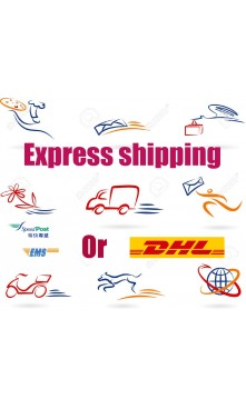 USD50 Extra charge courier fee for fast shipping