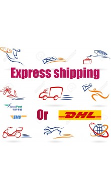 courier fee USD25 for fast shipping