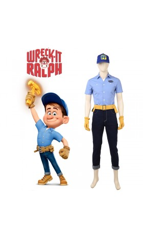 DI003 Ralph Breaks the InternetFix-It Felix cosplay costume
