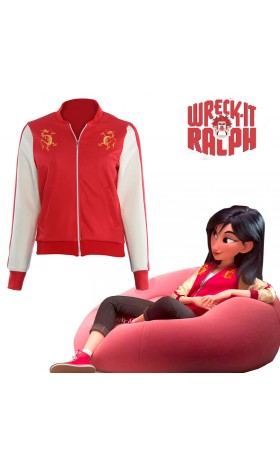 DI004 Ralph Breaks the Internet Mulan jacket costume