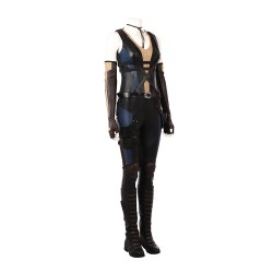 DP003 Marvel Comics Dead pool 2 Neena Thurman Domino Reynolds X-Force cosplay costumes