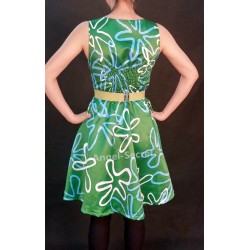 P268 women inside out movie cosplay disgust costume dress adult or kid