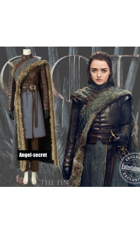 GT005 Game of Thrones season8 cosplay Arya Stark costumes