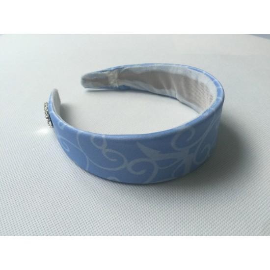 HB159H Cinderella princess matching blue  Headband for P159 and p169