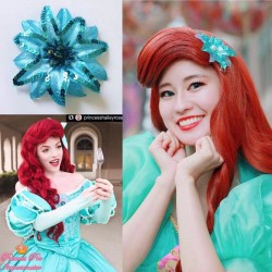 HP16 mermaid Ariel flower for wig