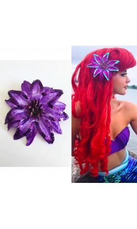 HP16 mermaid Ariel flower for wig