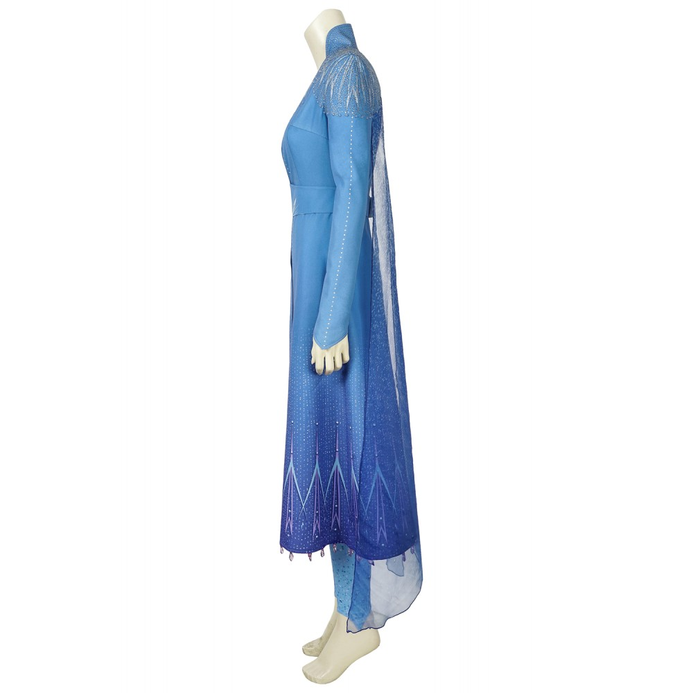 j996 Frozen 2 Elsa dress costume Frozen 2 Elsa dress costume