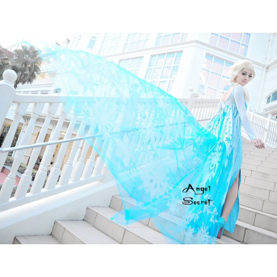 J710 ELSA Cosplay Costume Dress