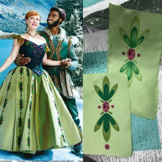 C713  Anna coronation Dress broadway version Bodices only