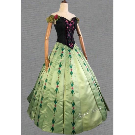 J713 Anna coronation Dress broadway version