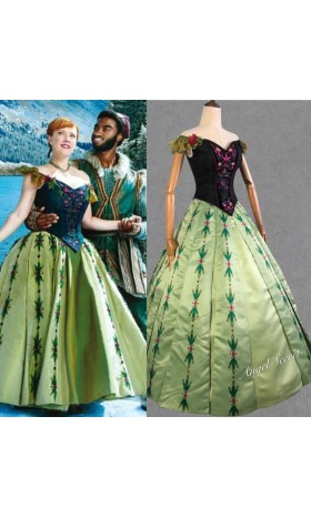 J713  Anna coronation Dress broadway version