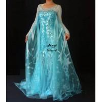 J808 Elsa Cosplay Costume  dress