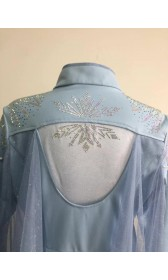j886C Frozen2 Elsa dress costume new rhinestone version (just jacket and the belt only)