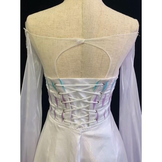 J908 Frozen2 Elsa dress costume show yourself five spirit