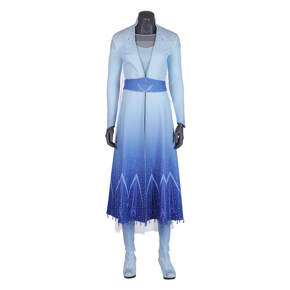 0f7e411b6d0 j996 Frozen 2 Elsa dress costume