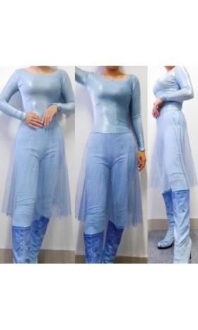 top86 Frozen2 Elsa dress costume