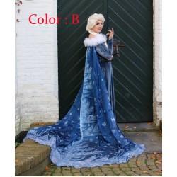 J998 OLAF'S FROZEN ADVENTURE Elsa dress