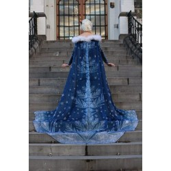 CL998 OLAF'S FROZEN ADVENTURE Elsa cape