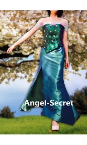 JN979 corset sleeves and skirt for frozen fever elsa