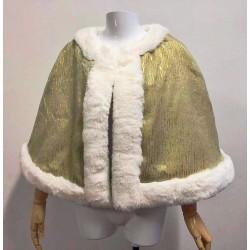 C338 TIANA PRINCESS COSTUME CAPE