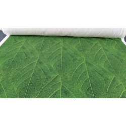 MAT156 Tinkerbell leaf print fabric