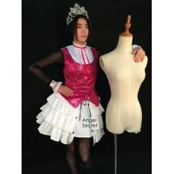 MHD1 monster high doll costume Draculaura