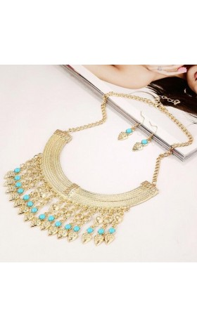 NE78  jasmine  necklace