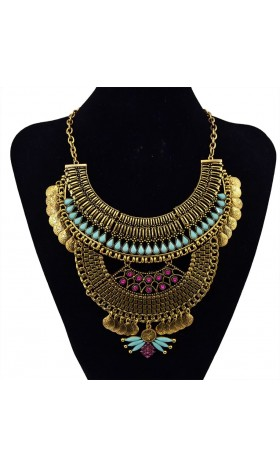 NE79  jasmine  necklace