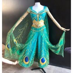 P076C Jasmine costume movie cosplay princess party custom made 2019 (cape only)