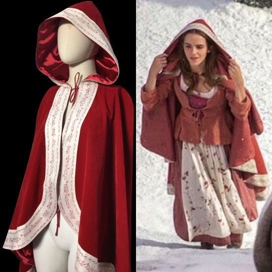 CL117 Live action 2017 Belle Beauty and the beast cape cloak