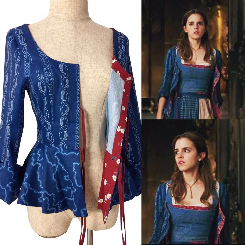P120 COSPLAY beauty and beast jacket princess belle Costume tailor made 2017 version  sc 1 st  angel-secret & P120 COSPLAY beauty and beast jacket princess belle Costume ...