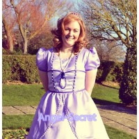 P146 SOPHIA costume Dress sofia the first princess with larger skirt