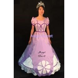 P146 SOPHIA costume Dress sofia the first princess