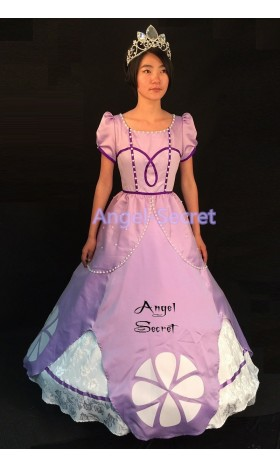 P146 SOPHIA costume Dress sofia the first princess