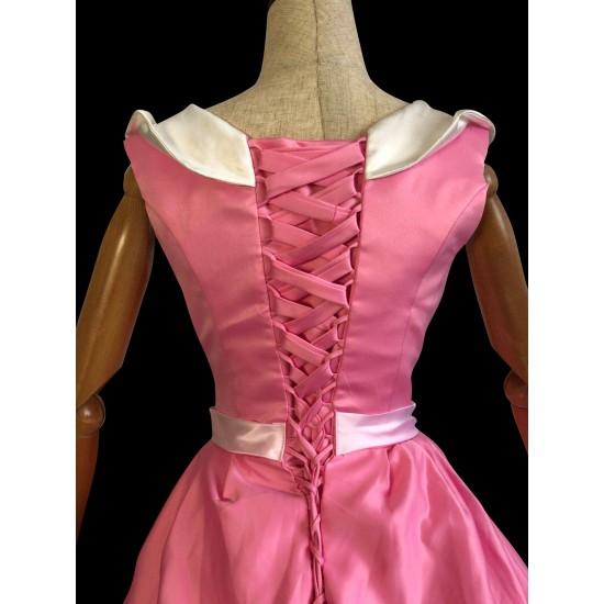 P147 Cinderella pink dress