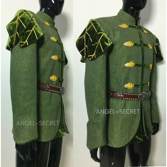 P150  prince naveen  frog and princess jacket and cape