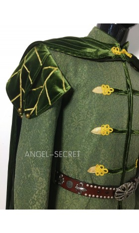 P150  prince naveen  frog and princess jacket and cape