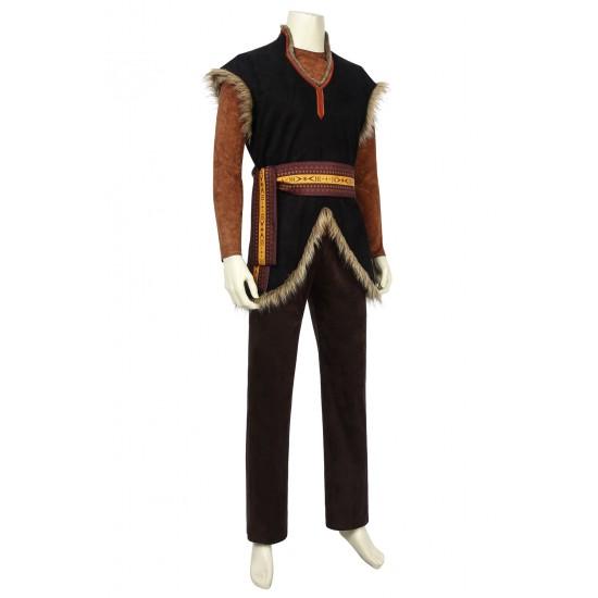 P152  Frozen2 kristoff cosplay costume