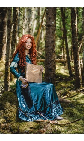 P160 Merida dress brave costume