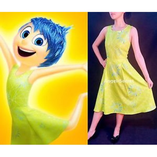 Inside Out Joy Deluxe Girls Costume