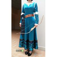P170 Merida velvet dress
