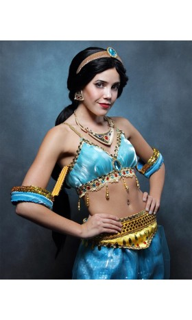 P177 princess jasmine bra belt and pants